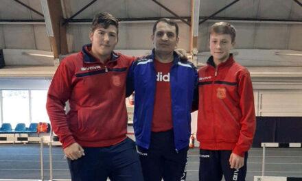 Antonio Axentiev şi Alin Şavlovschi, selecţionaţi în Lotul Naţional de Atletism