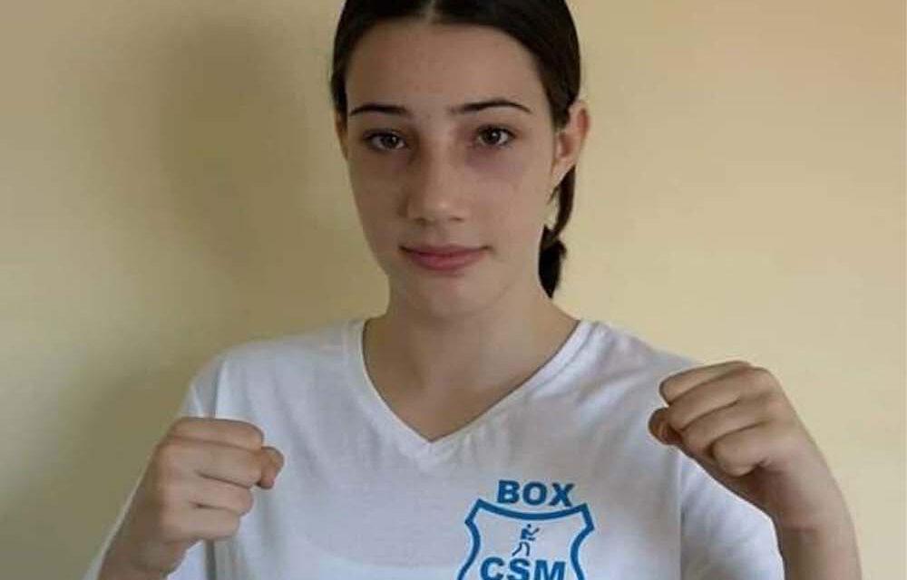 Amalia Niţă, noua speranţă a boxului tulcean