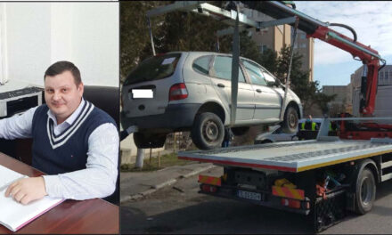 Maşini abandonate în municipiu