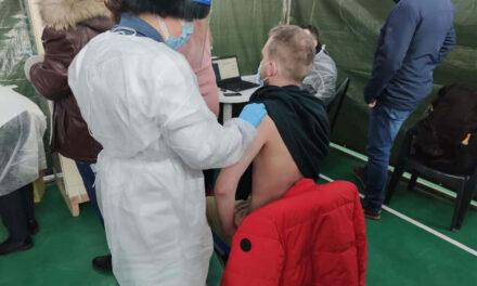 Peste 5.500 de persoane vaccinate la Tulcea
