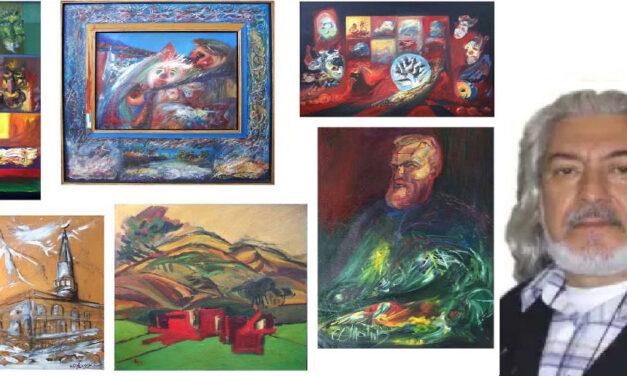 """Pictorul Marin Cocheci-Căldăraru: """"Niciodată nu mi-am spus că trebui să pictez numai anumite lucruri"""""""