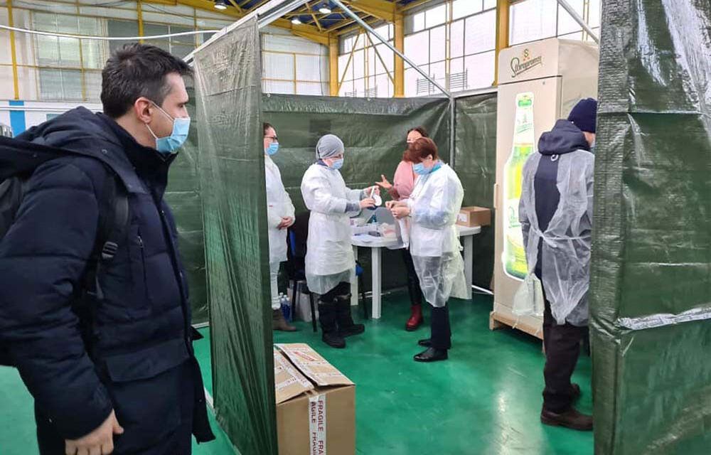 În Tulcea nu au ajuns doze de vaccin anti-Covid din lotul AstraZeneca suspectat de neconformităţi