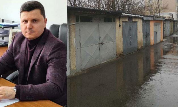 Proprietarii de garaje de pe Aleea Merişor, notificaţi să demoleze construcţiile