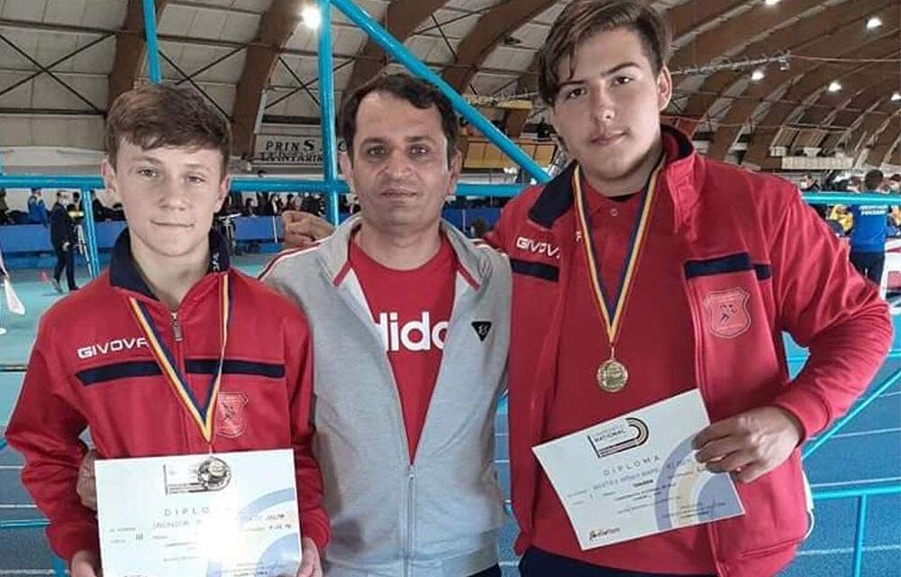 Antonio Axentiev, medalie de aur la Campionatul Naţional de Juniori 3