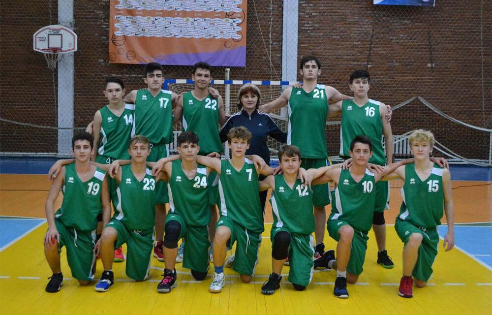 Baschetbaliştii tulceni de la CSS Tulcea participă la primul campionat de anul acesta
