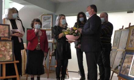 """Claudia Grigore-Pahom, expoziţie aniversară: """"40 de Primăveri"""""""