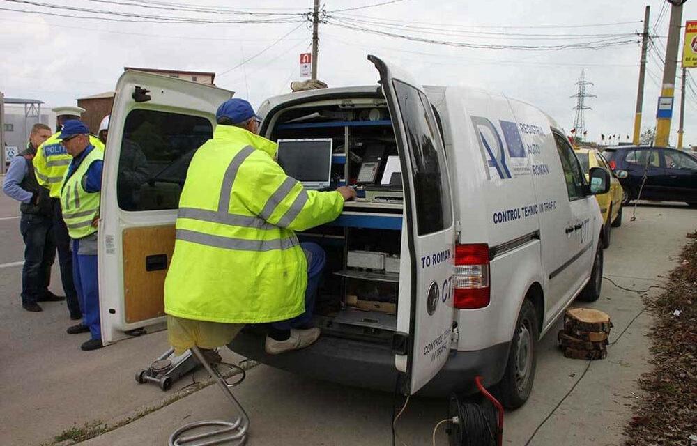 Peste jumătate din maşinile tulcenilor verificate în trafic aveau deficienţe tehnice