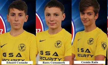 Cinci fotbalişti de la Victoria Delta Tulcea, selectaţi în următoarea etapă a Turneului Speranţelor