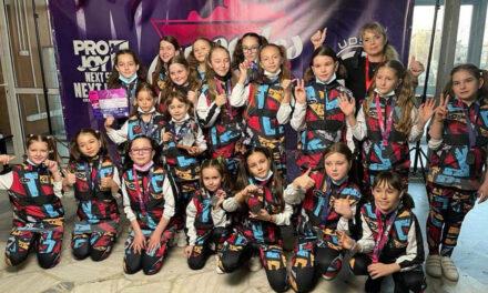 Dansatorii de la Let's Go Dance Tulcea, medalii de aur şi argint  la All Styles Dance Competition