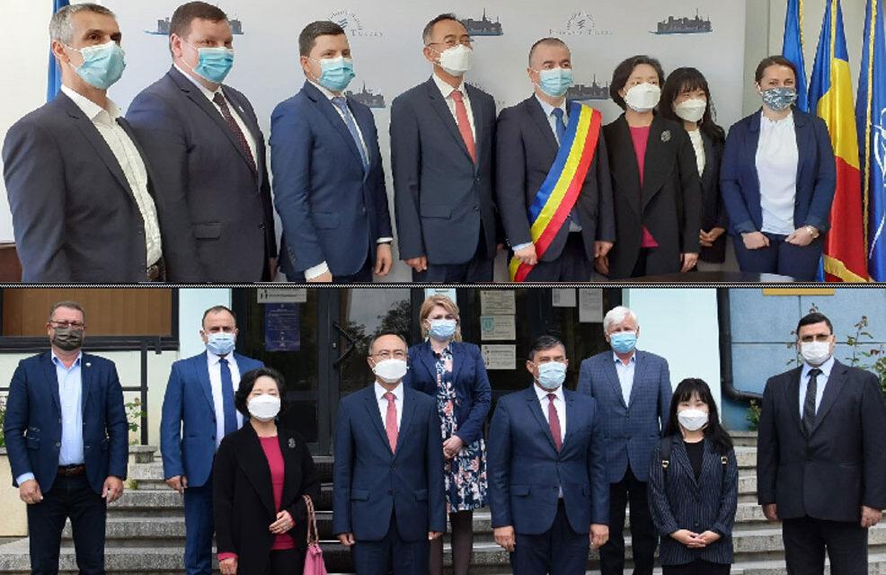 Ambasadorul Republicii Coreea, interesat de vinul şi turismul dobrogean