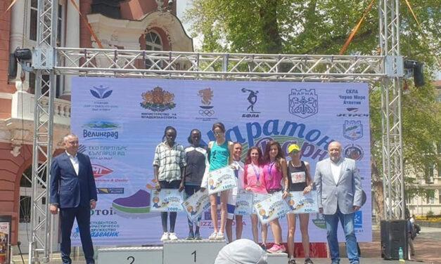 Nicoleta Ciortan, locul VI la Maratonul Internaţional de la Varna