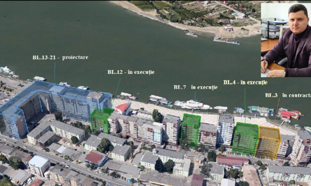 Începe reabilitarea termică a blocurilor de pe strada Gării