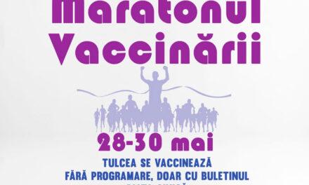 Maraton de vaccinare anti-COVID 19, de vineri, în Piaţa Civică