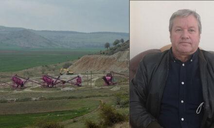 """Primarul Nicu Mocanu, despre exploatarea granitului din Greci: """"Ştim că se pune presiune pe instituţiile de mediu!"""""""