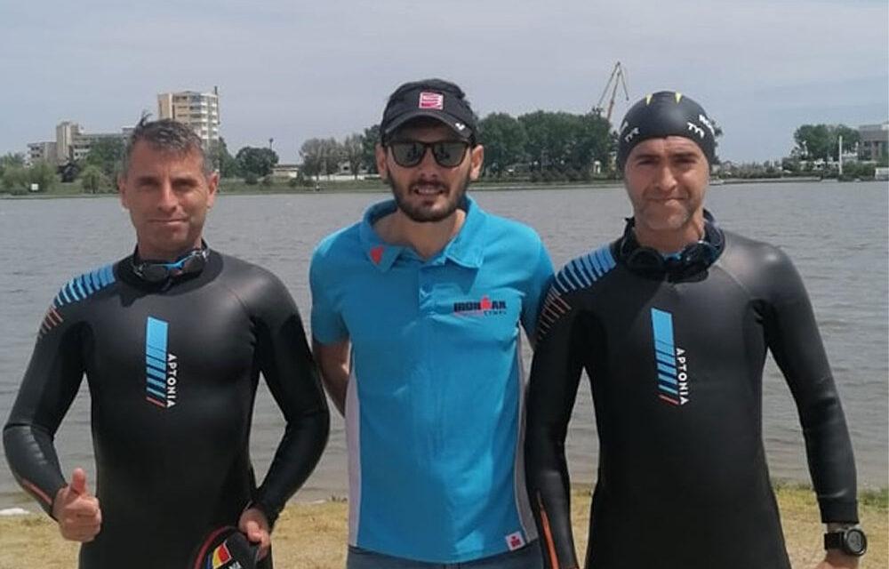 Sorin Andrici şi Ion Borisov, prezenţi la Campionatul Internaţional de Triatlon
