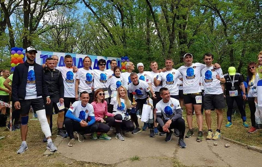 Spartanii au alergat 24h pentru copiii cu autism din Galaţi