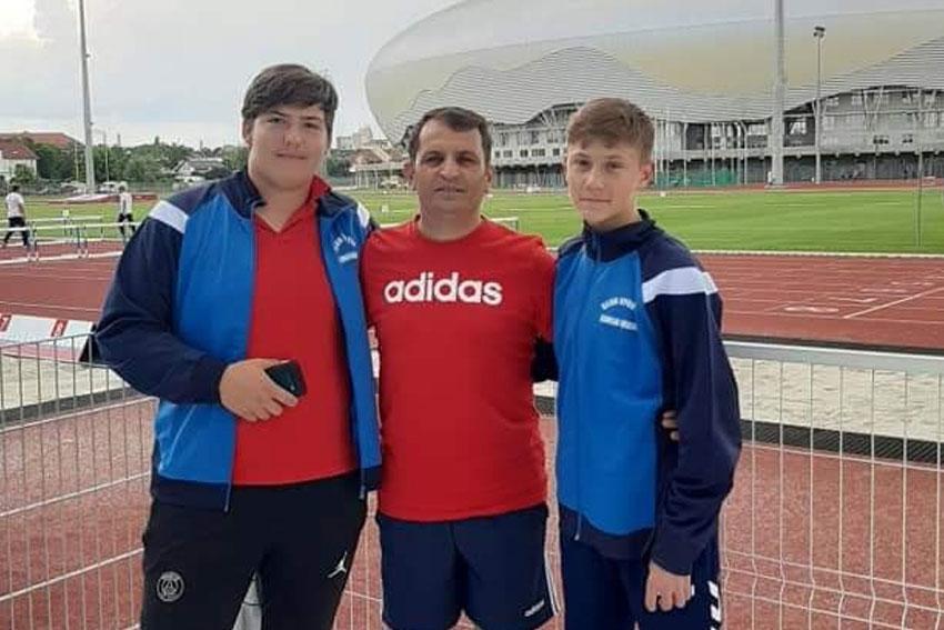 Antonio Axentiev şi Alin Şavlovschi, medalii de aur la Memorialul de Atletism pentru Juniori