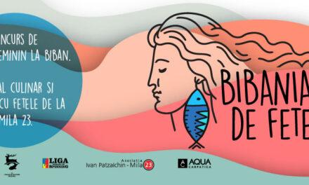 Bibaniada, concurs feminin de pescuit la Mila 23