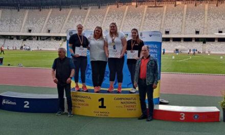 Mădălina Manole, argint şi bronz la Campionatul Naţional de Seniori şi Tineret