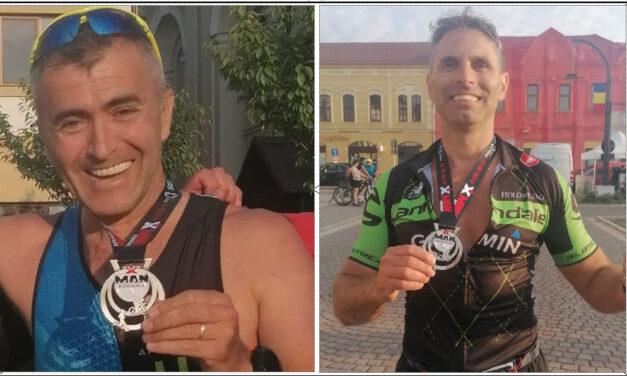 Sorin Andrici şi Ion Borisov au obţinut titlul de IronMan la Campionatul Internaţional de Triatlon