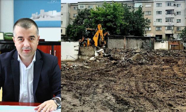 """Primarul Ştefan Ilie: """"Niciodată în locul garajelor desfiinţate nu se vor construi blocuri sau alte investiţii private!"""""""