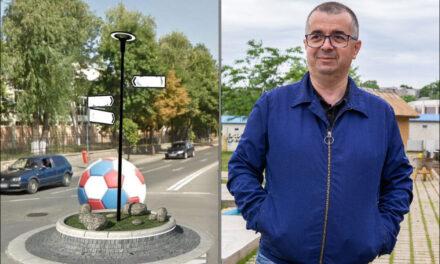 """Primarul Ştefan Ilie: """"Un şut în balon, un pas înainte!"""""""