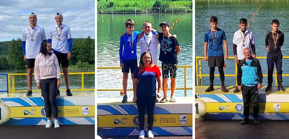 Sportivii de la CSM Danubiu Tulcea, şase medalii la Campionatul Naţional de Maraton Kaiac – Canoe