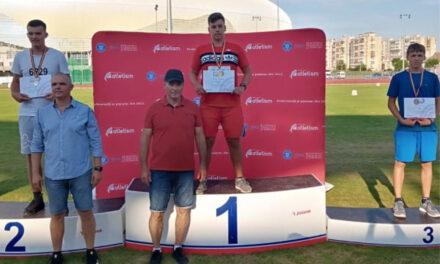 Valentin Ispas, medalie de aur şi bronz la Campionatul Naţional de Juniori 3-U16
