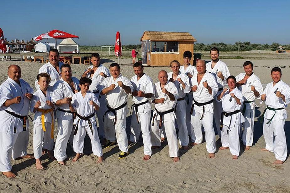 A 31-a ediţie a Taberei Zonale de Karate Kyokushin, la Sulina: 60 de karatişti prezenţi