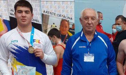 Ali Gean, locul 12 la Campionatul Mondial de Lupte pentru Cadeţi de la Budapesta