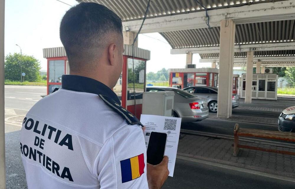 Cinci scannere mobile pentru verificarea codurilor QR, la Punctul de frontieră Isaccea