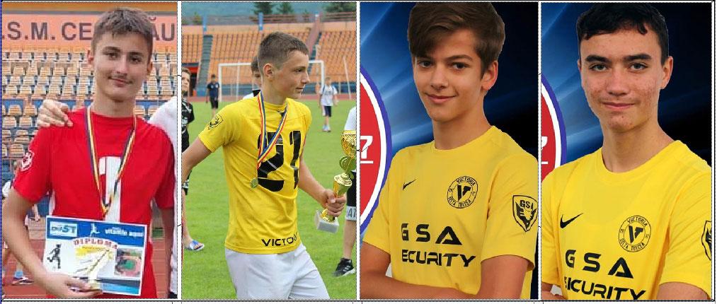 Patru fotbalişti de la Victoria Delta Tulcea se luptă pentru un loc în Lotul Naţional de Fotbal U15