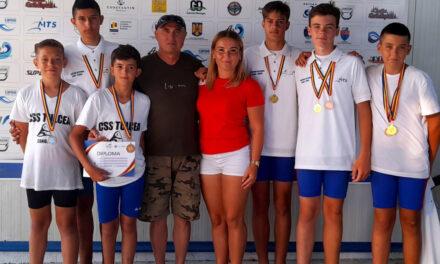 Sportivii de la CSS Tulcea, 10 medalii la Campionatul Naţional de Viteză Kaiac-Canoe Juniori I, II şi Cadeţi