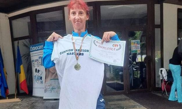 Atleta Nicoleta Ciortan, medalie de aur la Campionatul Naţional în Aer Liber Masters