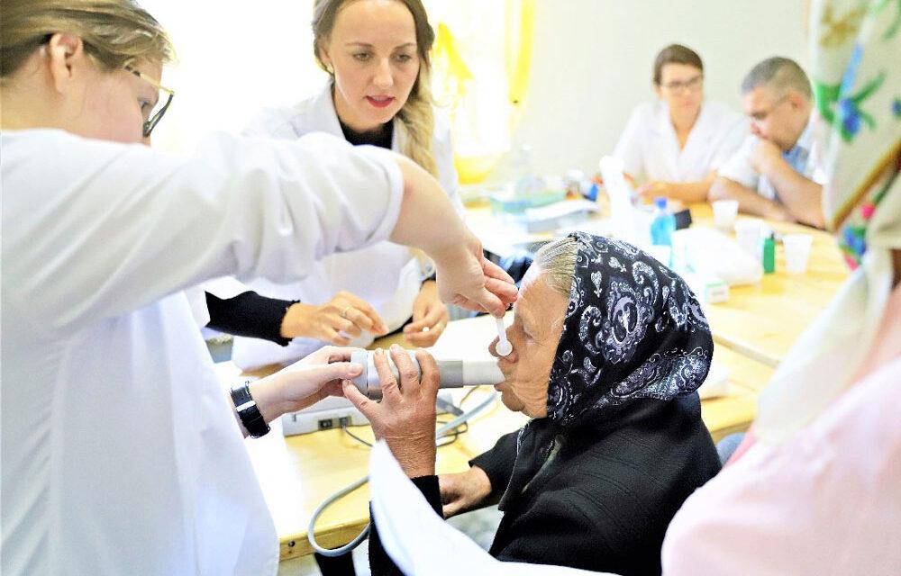 Caravana de testări medicale gratuite ajunge în Sarichioi, weekend-ul acesta