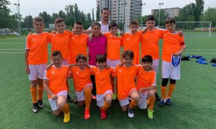 Fotbaliştii de la ACSM Delta Tulcea, la Turneul Braşov Junior's Cup 2021