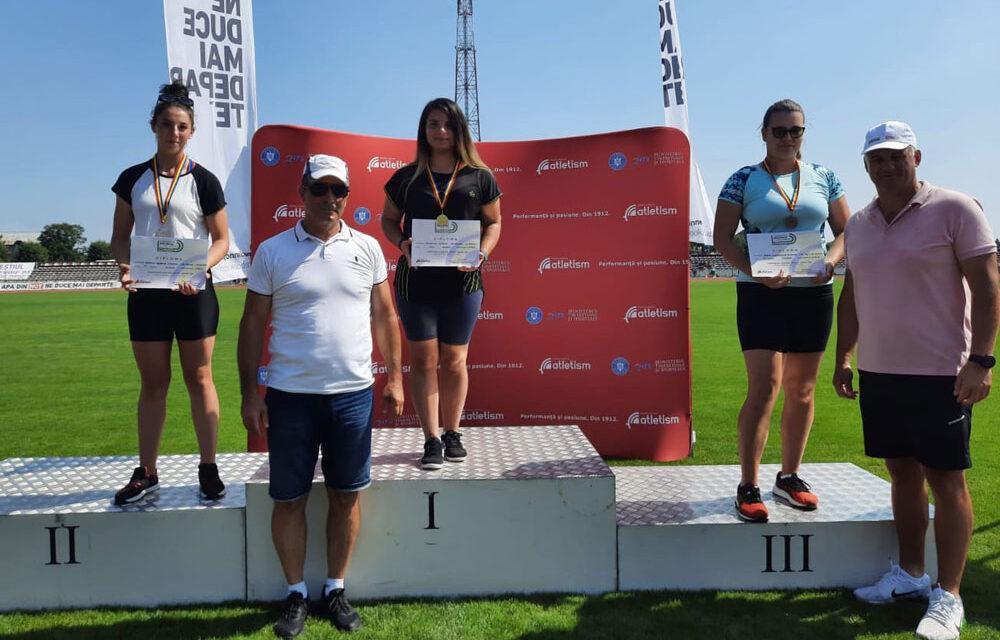 Mădălina Manole, campioană naţională la aruncarea greutăţii
