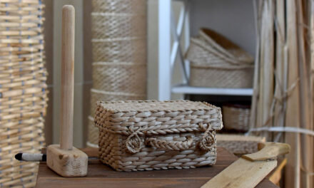 Meşteşugul împletirii papurei, dezvăluit la Iarmarocul Design Fair de la Tulcea