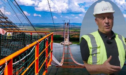 Preşedintele Horia Teodorescu, invitat de Ambasada Japoniei să traverseze podul peste Dunăre