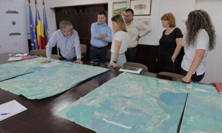 Primarul Ştefan Ilie a semnat avizele pentru extinderea reţelei de gaze naturale pentru 90 de străzi din municipiu