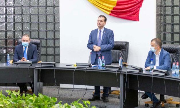 Preşedintele PNL Ludovic Orban regretă cedarea postului de guvernator al Deltei către USR