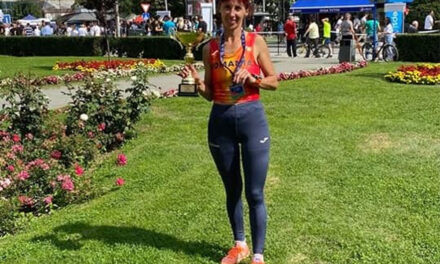 Atleta Nicoleta Ciortan, medalie de argint la Campionatul Balcanic de Semimaraton din Macedonia