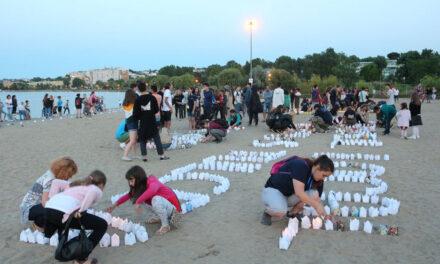 Festivalul Luminii, organizat de cercetaşi pe Lacul Ciuperca