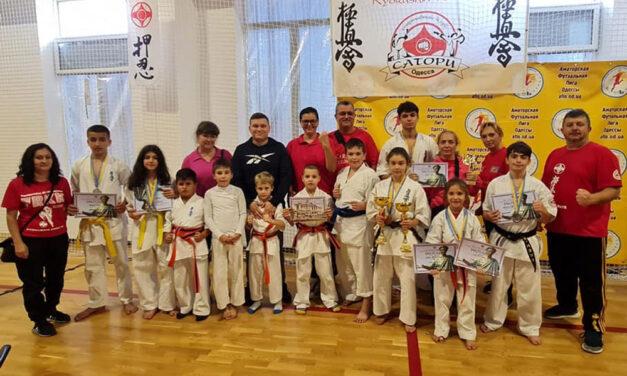 Opt medalii pentru karatiştii de la Nippon Budo Sport la Open Championship of Odessa Region