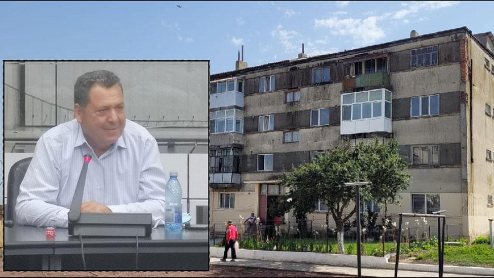 Primarul comunei Stejaru, un nou apel către autorităţile centrale pentru preluarea blocurilor din Altîn Tepe