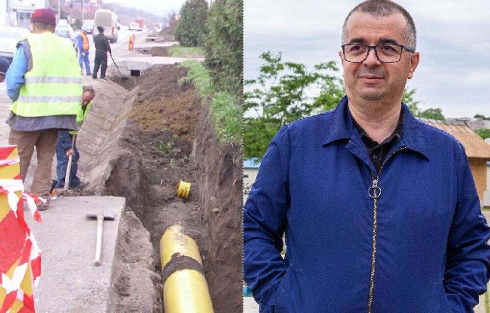 """Primarul Ştefan Ilie vrea să modernizeze străzi şi să extindă reţeaua de gaze naturale cu bani de la """"Anghel Saligny"""""""
