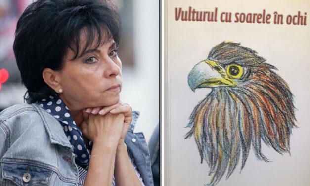 """Romanul """"Vulturul cu soarele în ochi"""", semnat de Valeria Hogea, lansat joi la Casa Avramide"""