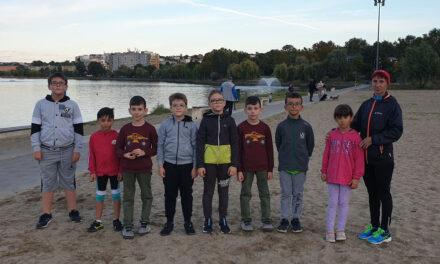 Tinerii tulceni s-au alăturat antrenamentelor de atletism în cadrul Săptămânii Europene a Mobilităţii