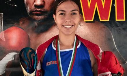 Alina Creţu, medalie de aur la Cupa Bulgariei