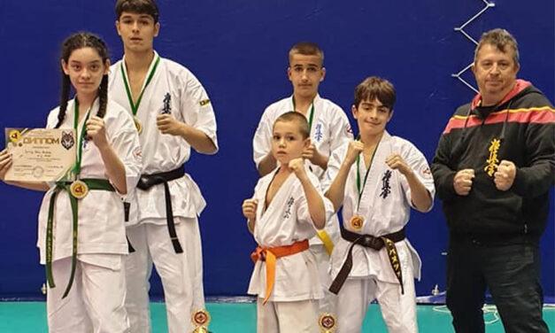 """Patru medalii pentru karatiştii de la Nippon Budo Sport la turneului All-Ukrainian Open Cup """"OOKAMI – KAN"""""""